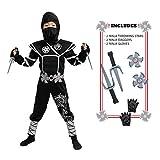 Spooktacular Creations Silver Ninja Child Costume...