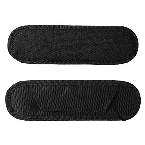 TTAO 1 Pair Shoulder Strap Pad Replacement Air Cushion Pad for Business Bag Backpack Rucksack Laptop Camera Guitar Bag Black #2 One Size