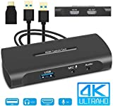 HDMI Capture Card, 4K HD Game Capture HDMI to USB Video Capture Device