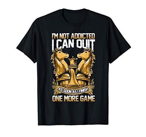 チェス中毒者 Tシャツ