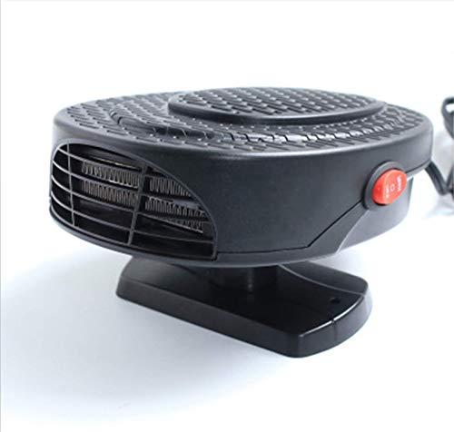 EET Beweglicher Auto-Heater Defogger, [New Upgrade-] Auto Demister Schnelle Heizung Defrost 12V150W, Plug-In Cig Lighter, Low Noise Winter