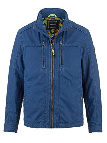 BABISTA Herren Jacke mit Stehkragen in Blau aus Baumwolle in leichter Baumwollqualität