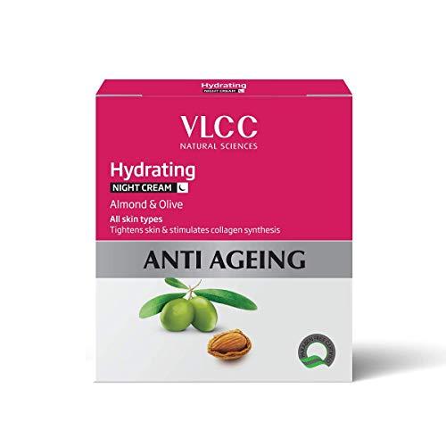 Crème de Nuit VLCC Hydratant Anti vieillissement, 50g