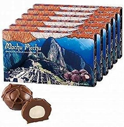 マチュピチュ マカデミアナッツ チョコレート 6箱【ペルー お土産 輸入食品 スイーツ】