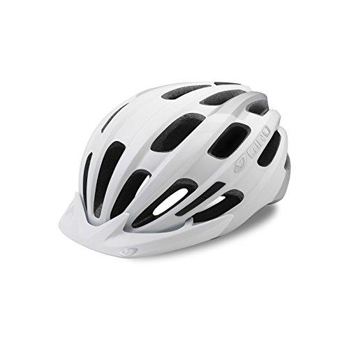 Giro Unisex– Erwachsene Register Fahrradhelm, Matte White, One Size XL
