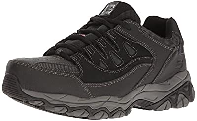 a3f00aeb9a8d7 7. Skechers for Work Men's Holdredge Steel Toe Work Shoe