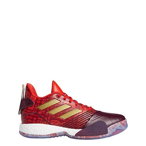 adidas Hombre T-Mac Millennium Zapatos de Baloncesto Rojo, 45 1/3