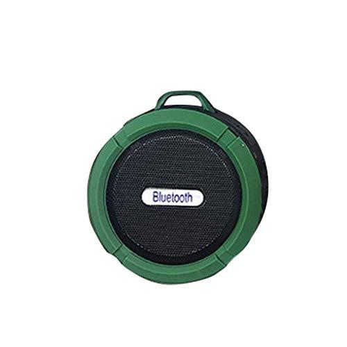 Vokmon Altavoz de los Deportes C6 Bluetooth Wireless Ronda Colgante Portable Impermeable de Sonido estéreo Caja de Regalo