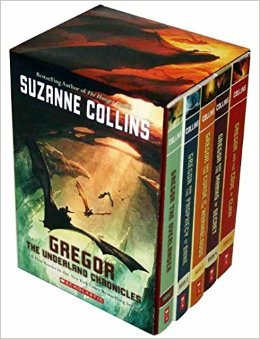GREGOR- THE UNDERLAND CHONICLES (BOX-SET) [Paperback] Suzanne Collins