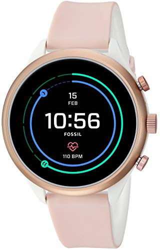 Fossil Womens Smartwatch with Silicone Strap FTW6022