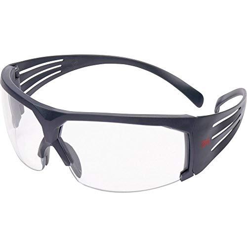 3M SecureFit Schutzbrille SF601SGAF–FI mit Scotchgard Anti-Fog & Anti-Scratch Beschichtung – Arbeitsschutzbrille mit grauem Schaumrahmen