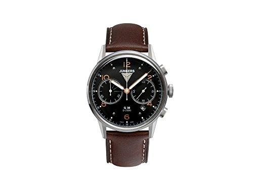Junkers Herren-Armbanduhr XL G 38 Chronograph Quarz Leder 69845