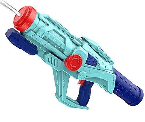 Wasserpistole Spielzeug für Kinder, Super Pistole 33 ft Long Shooting Range Powerful Blaster mit 750ML Großer Water Soaker Gun für Sommer Party Garten Strand Wasser Kampfspielzeug für Mädchen Jungen