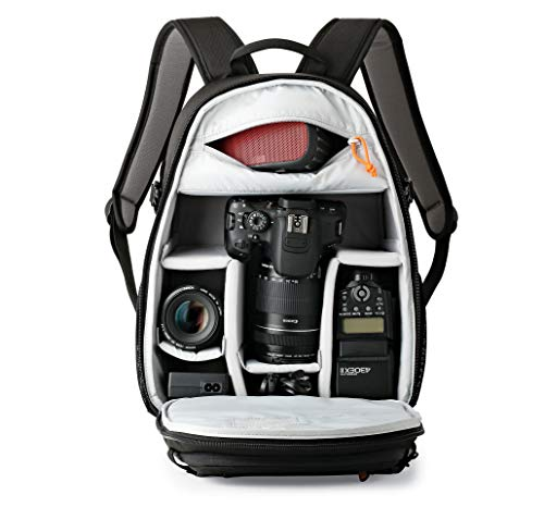 LowePro Tahoe BP 150. Lightweight Compact Camera Backpack for Cameras (Black).