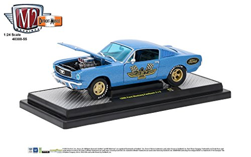M2 Machines 1:24 Scale 1966 Ford Mustang Fastback 2+2 Release 55A 17-10 -  40300-55B
