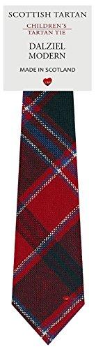I Luv Ltd Garçon Tout Cravate en Laine Tissé et Fabriqué en Ecosse à Dalziel Modern Tartan