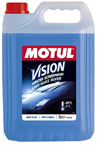 MOTUL Liquido Limpiaparabrisas Invierno Protección Heladas -20ºC Winter-Hiver, Azul 5 litros