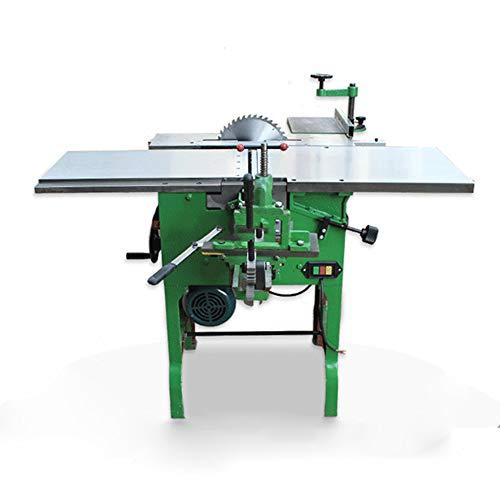 QWERTOUY Multiuso máquina Herramienta cepilladora/Motosierra/Madera eléctrica Planer Escritorio maquinaria de carpintería de...