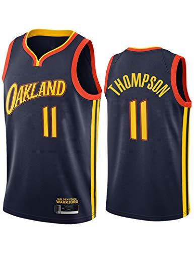 FDSNFV Hombre Jersey Ropa de Baloncesto # 11 Thompson Uniforme de Baloncesto Malla Jersey Camiseta de Basketball Jersey