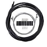 AODENER Cable de freno para bicicleta, cable de freno de bicicleta, 5 mm, 2P, cable de cambio de 4 mm, SP, cable interior de freno (1,1 m + 1,7 m) para bicicleta de montaña y de carreras