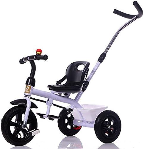 BZEI-BIKE Dreirad Kinderwagen fürrad Kind Spielzeugauto Aufblasbares Rad Schaum Rad fürrad 3 R r, Weiß   Kinderspielzeug