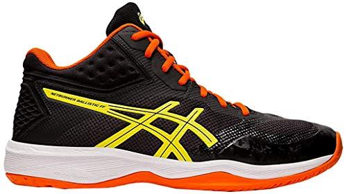 ASICS - Netburner Ballistic Schuhe für Herren, 39.5 EU, Black/Sour Yuzu