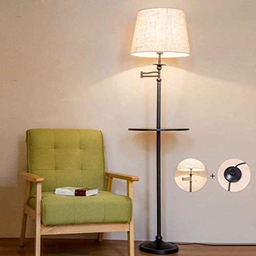 Leeslamp mode creatieve LED-lamp voet van de tafel, dual switch besturing van de pedaal/hand
