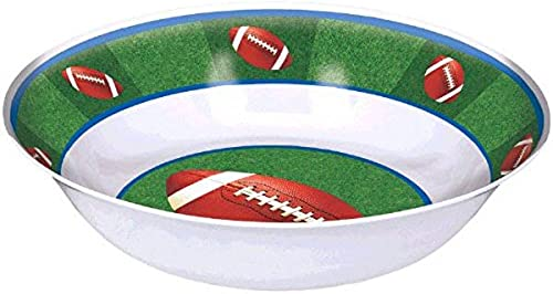 Obtén lo ultimo Amscan Football Frenzy Birthday Party Bowl Bowl Bowl (1 Piece), verde blanco, 13 x 13 by Amscan  online barato