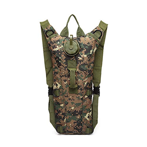 Trinkrucksack Sport-Umlaufwasserrucksack Multifunktionaler Camouflage-Wassersack Im Freien Sport-Wassersack 3L Liner Water Bag
