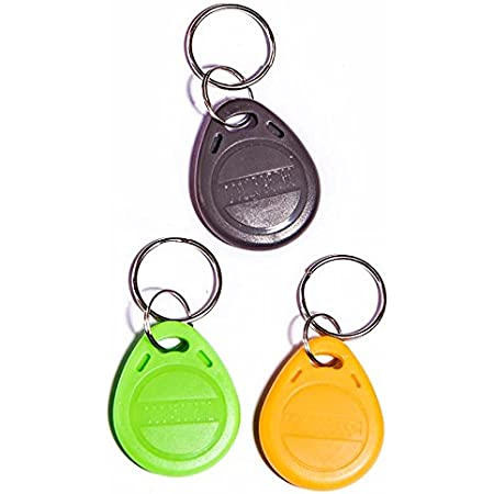 Lot de 3 badges compatibles avec les claviers Diagral DIAG45ACK, DIAG44ACK, TF310, TF410 …