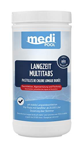 Medipool Chlor Multifunktionstabletten 1kg Langzeit MultiTabs 200g