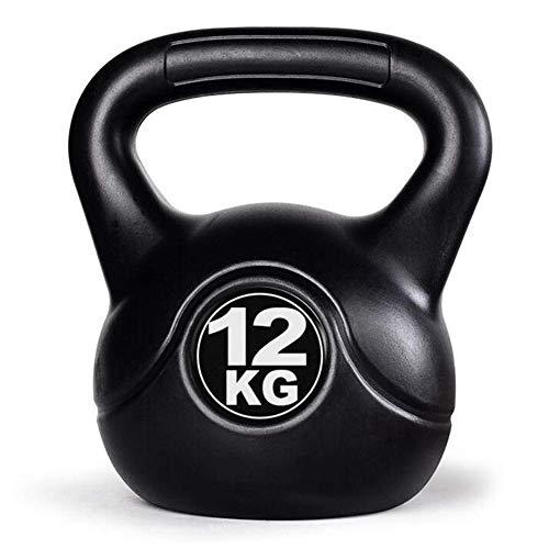 YLJYJ Kugelhantel aus massivem Gusseisen, Kugelhantel für Ballistische Übungen, Heim-Fitnessgeräte, Übung Armmuskeln, 2-14 kg (Größe: 11,8 kg)