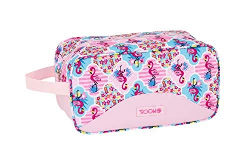 Moos  Flamingo Pink Oficial Zapatillero Zapatillero Mediano 290x140x150mm