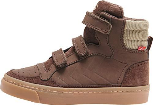 Hummel Stadil Nature Jr Zapatillas Moda Nino Marrón Zapatillas Altas Shoes