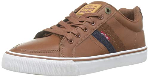 LEVIS FOOTWEAR AND ACCESSORIES Turner, Baskets Hommes, Marron (Brown 28), 43 EU