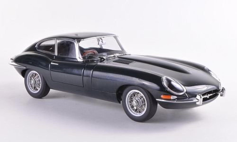 Jaguar E-Type Coupe Series I 3.8, dkl.-grün , 1961, Modellauto, Fertigmodell, AUTOart 1 18