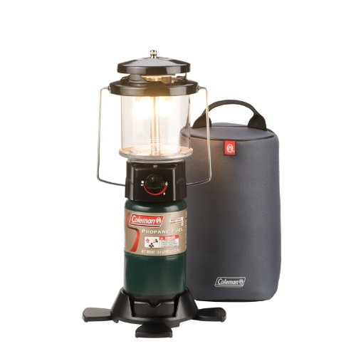 Coleman Deluxe PerfectFlow Propane Lantern with Soft Carry Case