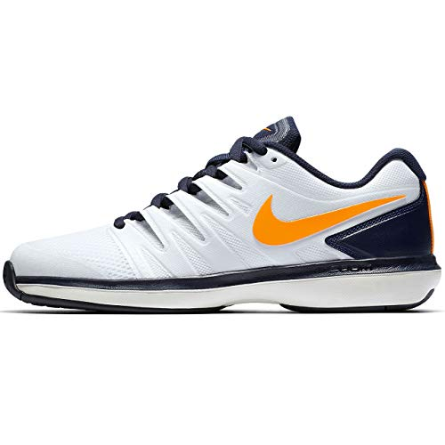 Nike Herren Air Zoom Prestige Hc Sneakers, Mehrfarbig White Orange Peel Blackened Blue Phantom 180, 44.5 EU