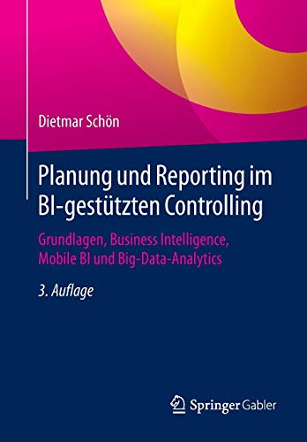 Planung und Reporting im BI-gestützten Controlling: Grundlagen, Business Intelligence, Mobile BI und Big-Data-Analytics