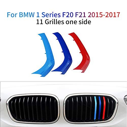 3 Colores Adhesivos para Parrilla Delantera para 1 Series F20 F21 116 118 120 125 135 2015-2017 3 Piezas (11 Varillas)