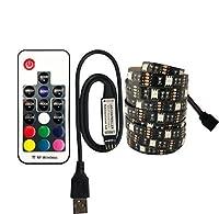 プレミアム LEDストリップライト、ベッドルームホームキッチン用のリモートRGBカラフルなLEDストリップライトのLEDストリップライト プロフェッショナル&アップグレード済み (Color : 17key, Size : 3mIP65)