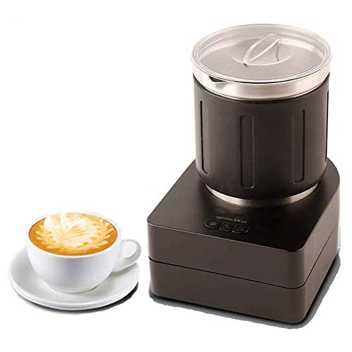 Electric Coffee Melkschuim, Cappuccino Foam Maker met Induction Heating Technology en specifieke Temperature Control, Quick en Mute, 3 in 1 Button zhihao