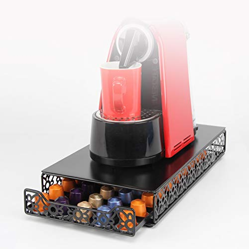 Coffee Capsule Drawer Display Storage Pod Holder for Nespresso Originaline 50 Pods