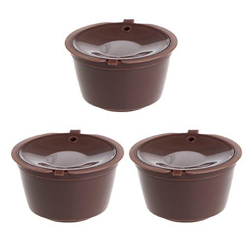 S-TROUBLE Taza de Filtro Reutilizable de 3 cápsulas para cápsula de café Nescafé Gusto Dolce Nuevo