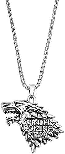 BACKZY MXJP Halskette Männer S Edelstahl Anhänger Halskette Hip Hop Vintage Heavy Metal Schmuck Pullover Kette Halskette Für Frauen Männer Geschenke