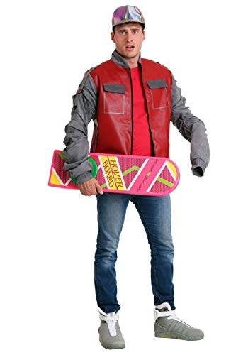 Adult Back to the Future Part II Marty McFly Jacket. XS-XL, available with or without the hat,