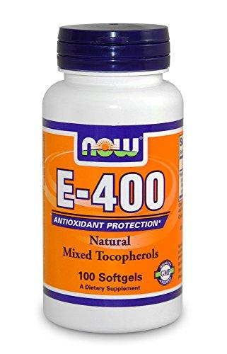 Vitamina E 400 ui (100 softgels) Now Foods