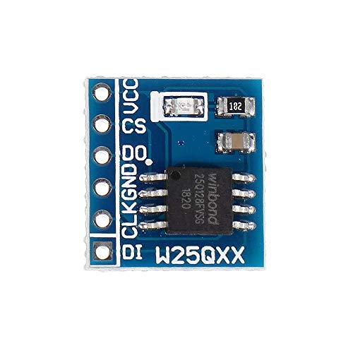 LKK-KK W25Q32 W25Q64 W25Q128 Large Capacity FLASH Storage Module Memory Card SPI Interface BV FV STM32 (Size : W25Q32)