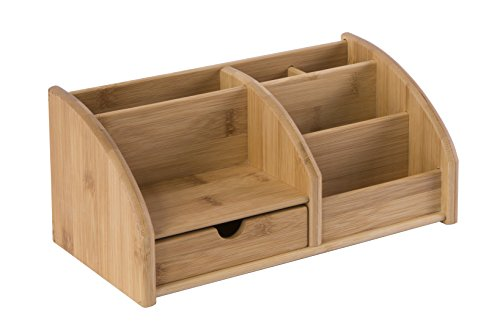 Osco Schreibtisch-Organiser, aus Bambus