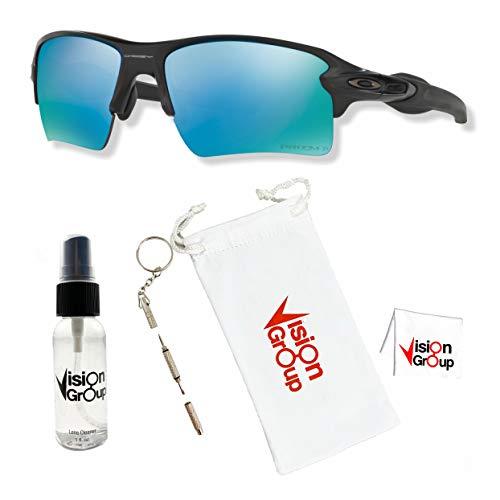 Product Image 2: Oakley 009188 Flak 2.0 XL Sunglasses with Accessories Bundle (Matte Black/Prizm Deep H2O Polarized (918858)